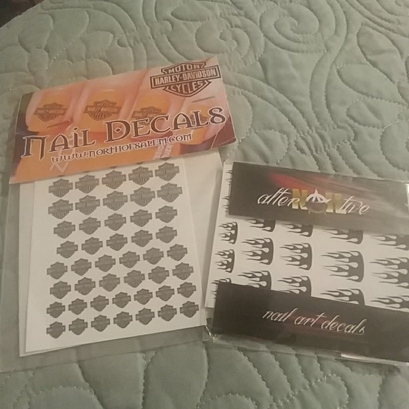 Harley Davidson Other Biker Nail Art Decals Poshmark